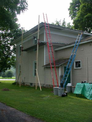 Replacing soffit and facia
